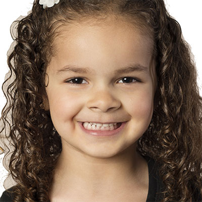 Biracial preschooler at a Preschool & Daycare Serving Conway & Myrtle Beach, SC