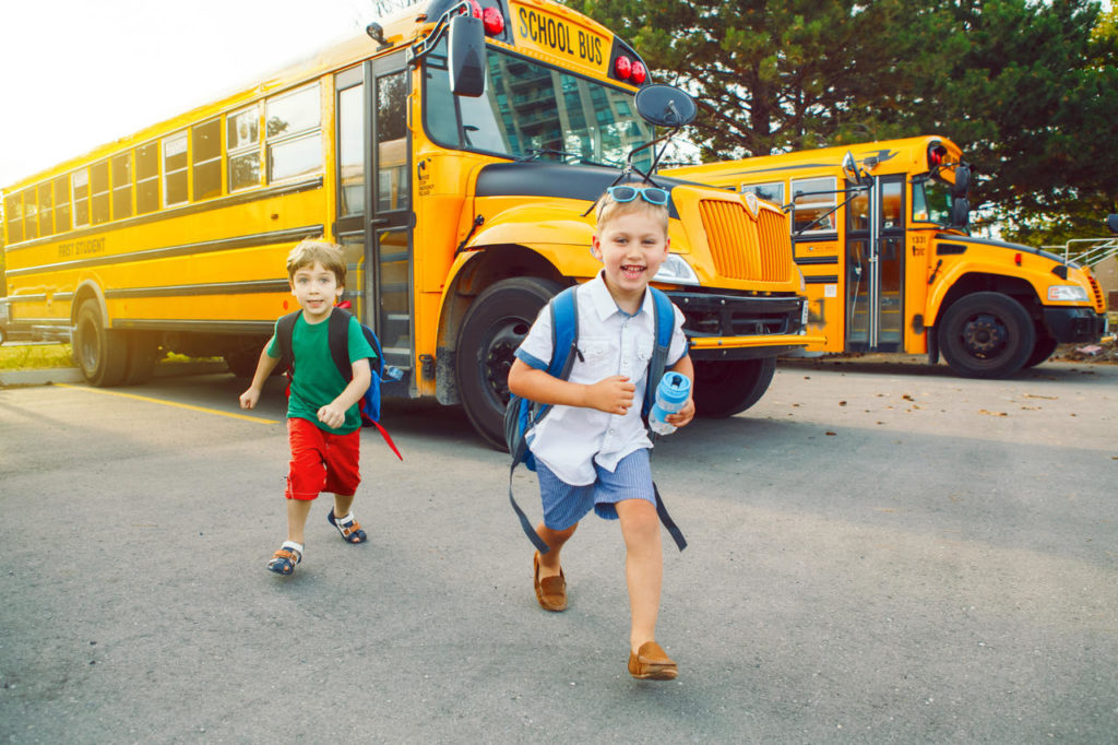 Two Dedicated School Buses For Fun Field Trips - Preschool & Daycare Serving Conway & Myrtle Beach, SC